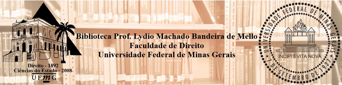 Logo for Biblioteca Prof. Lydio Machado Bandeira de Mello - Faculdade de Direito da UFMG